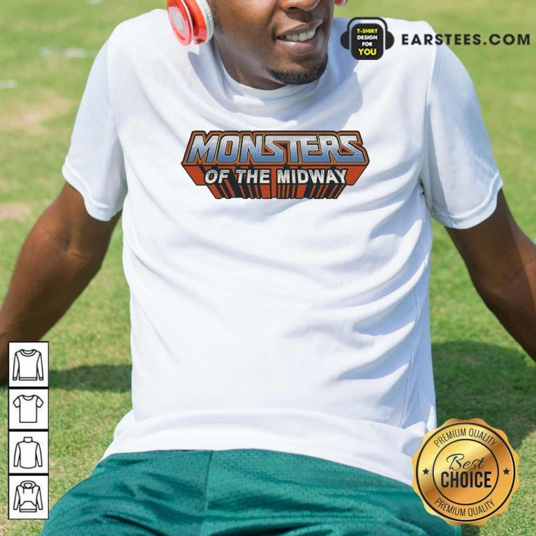 Chicago Bears Monsters Of The Universe Shirt- Design By Earstees.com