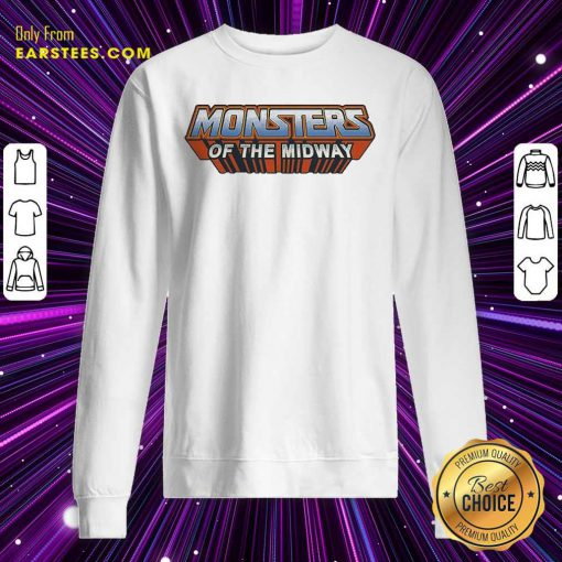 Chicago Bears Monsters Of The Universe Sweatshirt- Design By Earstees.com