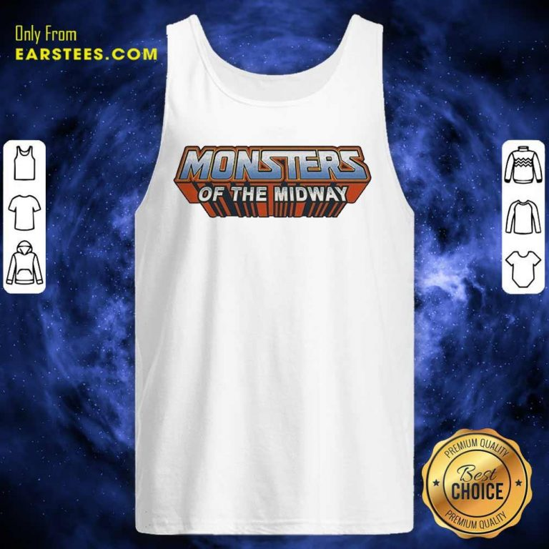 Chicago Bears Monsters Of The Universe Tank Top- Design By Earstees.com