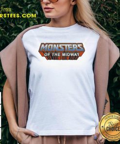 Chicago Bears Monsters Of The Universe V-neck- Design By Earstees.com