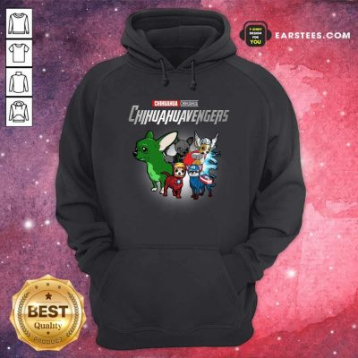 Chihuahua Marvel Avengers Chihuahuavengers Hoodie- Design By Earstees.com