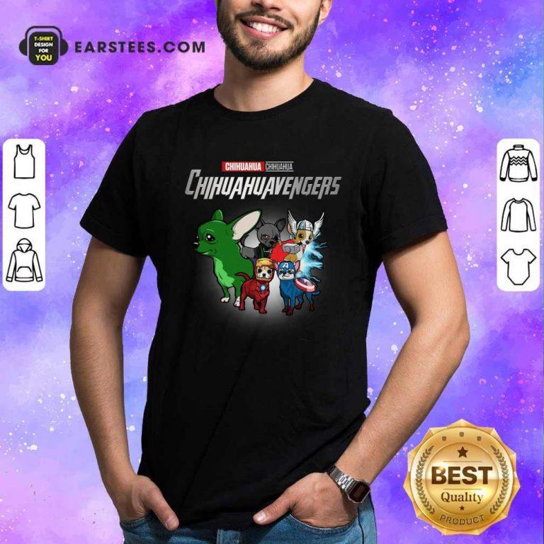 Chihuahua Marvel Avengers Chihuahuavengers Shirt- Design By Earstees.com