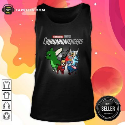 Chihuahua Marvel Avengers Chihuahuavengers Tank Top- Design By Earstees.com