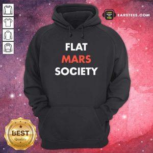 Flat Mars Society Hoodie - Design By Earstees.com