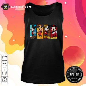 Mickey Mouse Be Strong Be Brave Be Humble Be Badass Tank Top- Design By Earstees.com