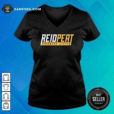 ReidPeat Kansas City V-neck- Design By Earstees.com