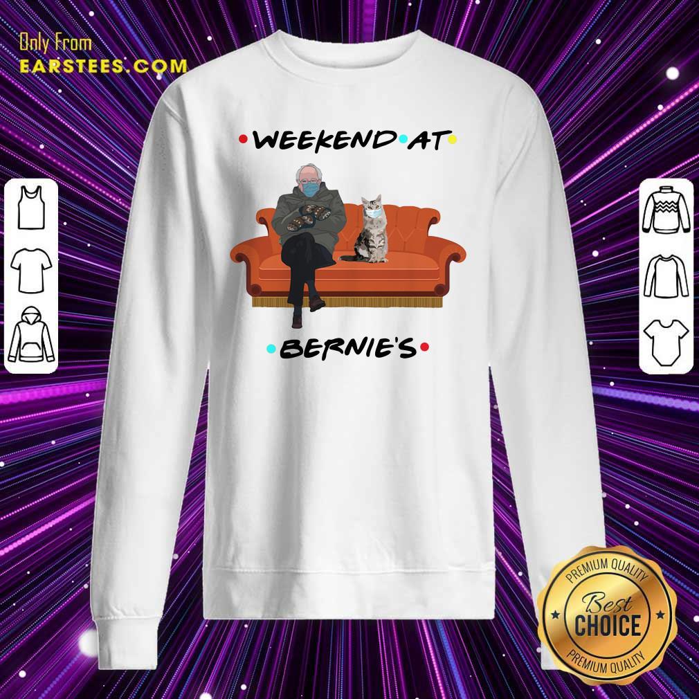 Weekend At Bernies Sweatshirt- Design By Earstees.com