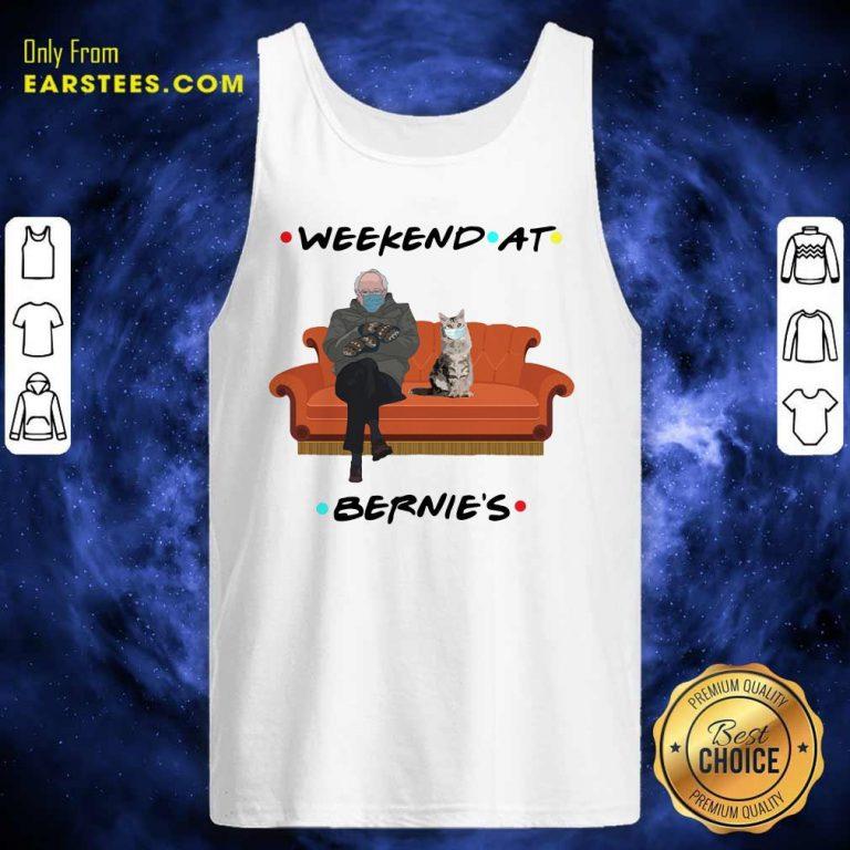 Weekend At Bernies Tank Top- Design By Earstees.com
