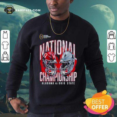 Alabama Crimson Tide Vs Ohio State Buckeyes College Football Playoff 2021 Sweatshirt- Design By Earstees.com