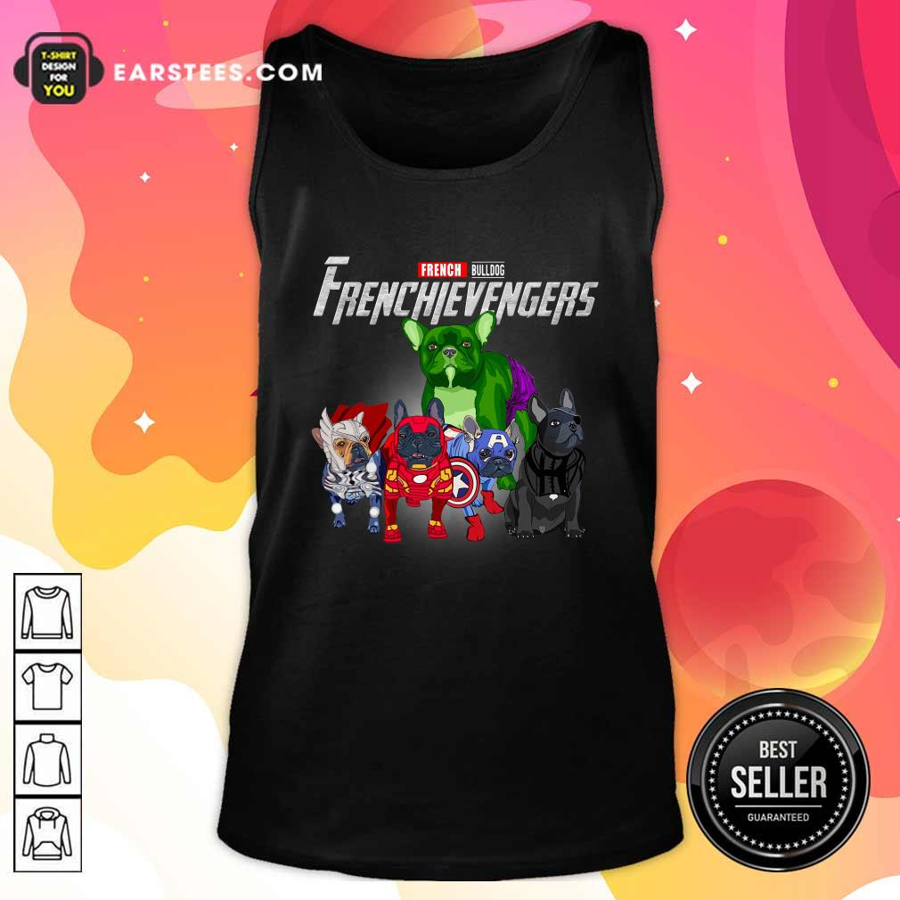 French Bulldog Frenchievenger Tank Top- Design By Earstees.com