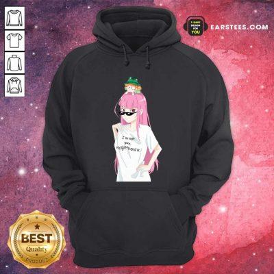 Im Not Gay My Girlfriend Is Hoodie- Design By Earstees.com