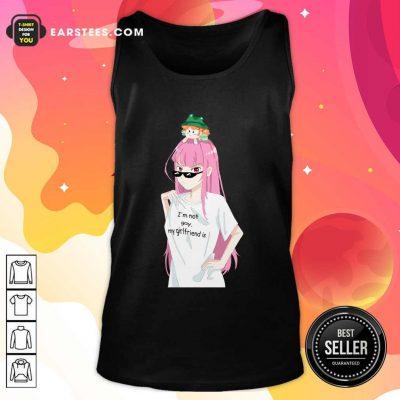 Im Not Gay My Girlfriend Is Tank Top- Design By Earstees.com