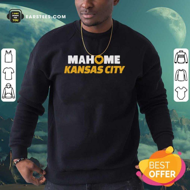 Patrick Mahomes Kansas City Sweatshirt- Design By Earstees.com