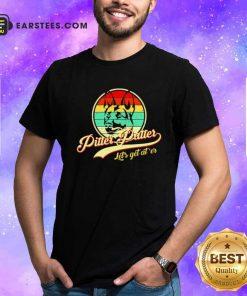 Pitter Patter Lets Get Ater Vintage Shirt- Design By Earstees.com