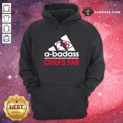 A Badass Chiefs Fan Hoodie- Design By Earstees.com