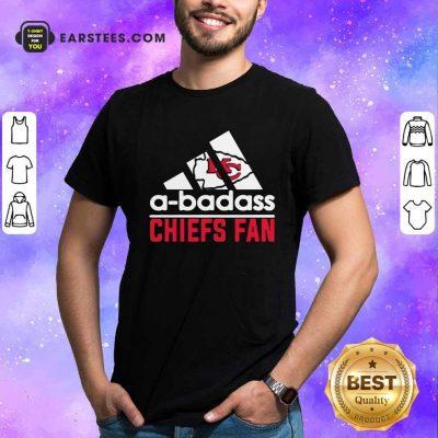A Badass Chiefs Fan Shirt- Design By Earstees.com