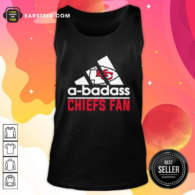 A Badass Chiefs Fan Tank Top- Design By Earstees.com