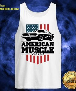 American Muscle Cars Flag Tank Top- Design By Earstees.com