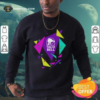 Gavin Dempsey Taco Bell Geometric Logo Sweatshirt- Design By Earstees.com