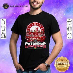 Alabama Crimson Tide 2021 Rose Bowl Champions Shirt- Design By Earstees.com