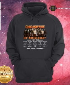 Chicago Fire 09th Anniversary 2012 2021 Signatures Thank Hoodie- Design By Earstees.com