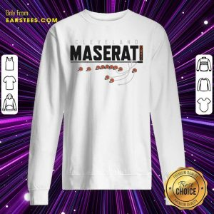 Cleveland Browns Maserati Sweatshirt- Design By Earstees.com