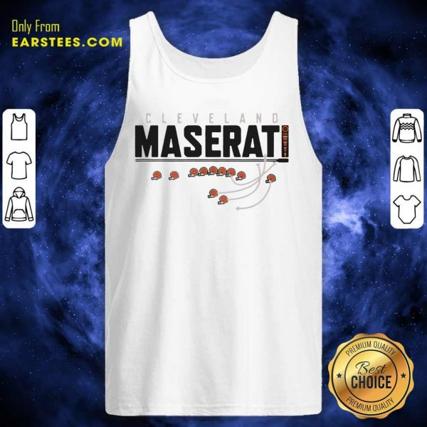 Cleveland Browns Maserati Tank Top- Design By Earstees.com