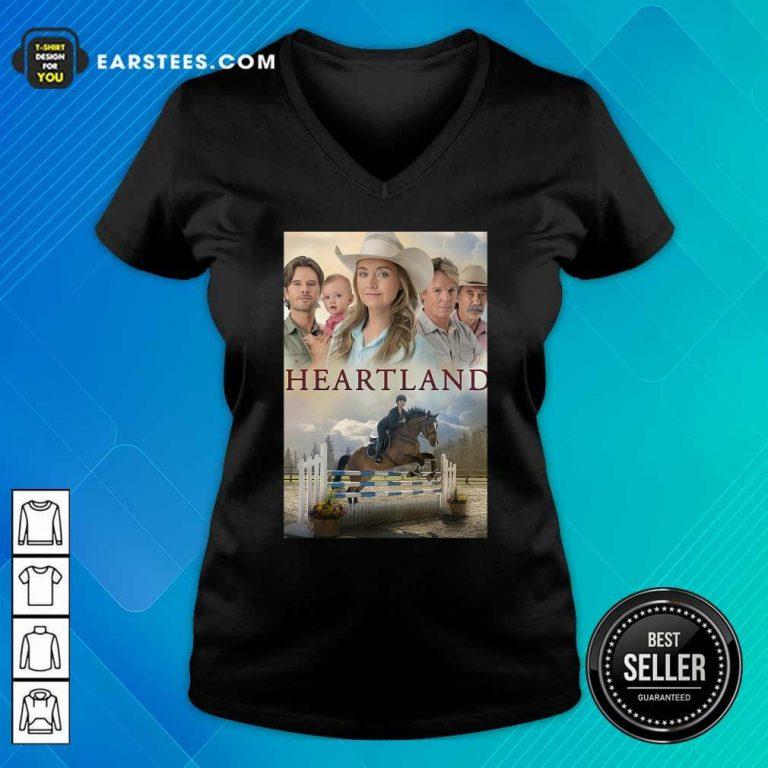Heartland V-neck- Design By Earstees.com