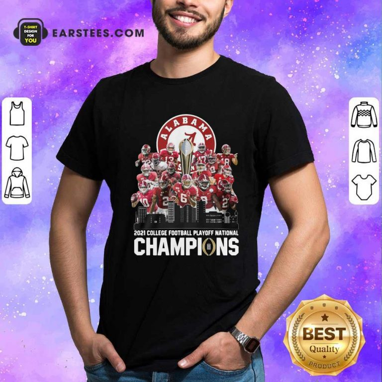 Alabama Crimson Tide 2021 College Football Playoff National Champions Shirt- Design By Earstees.com
