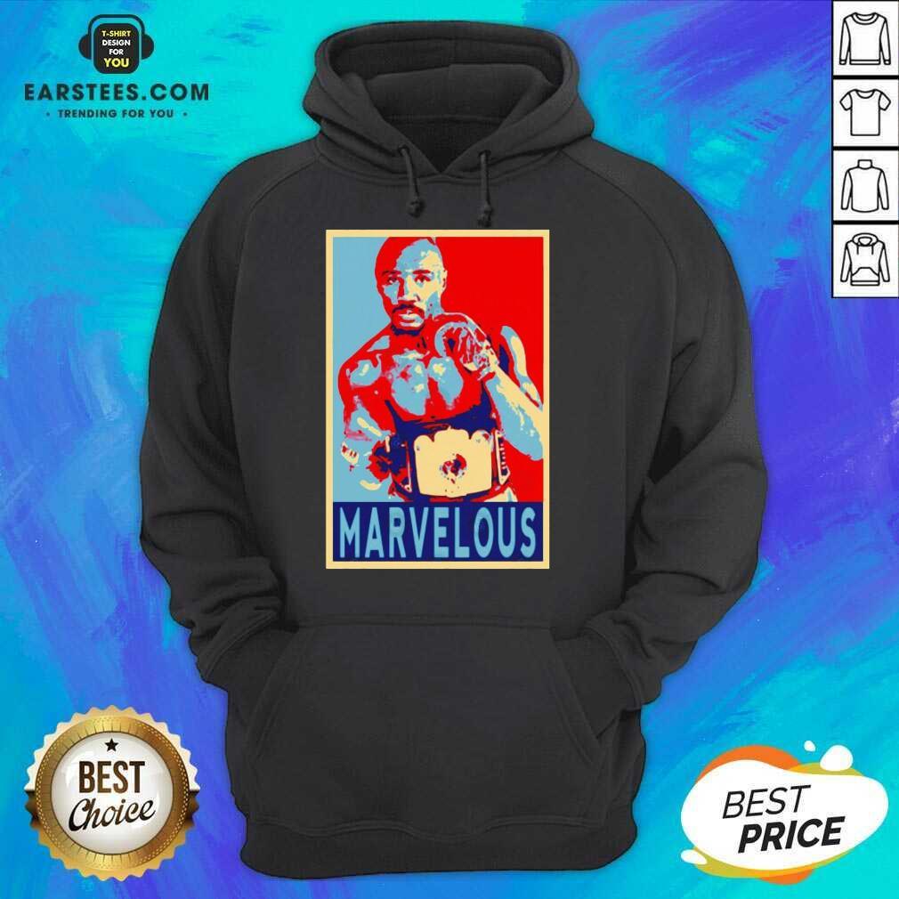 Awesome Marvin Marvelous Hagler Hope 9 Hoodie