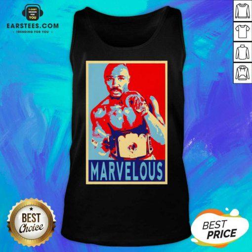 Awesome Marvin Marvelous Hagler Hope 9 Tank Top