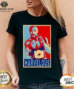 Awesome Marvin Marvelous Hagler Hope 9 V-neck