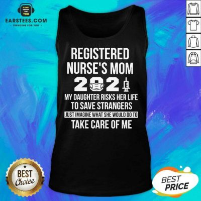 Awesome Registered Nurses Mom 2021 Tank Top