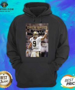 Excellent 9 Drew Brees New Orleans Hoodie