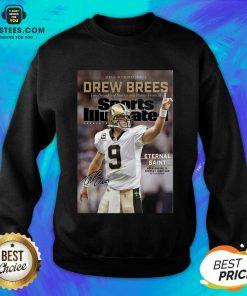 Excellent 9 Drew Brees New Orleans Sweatshirt