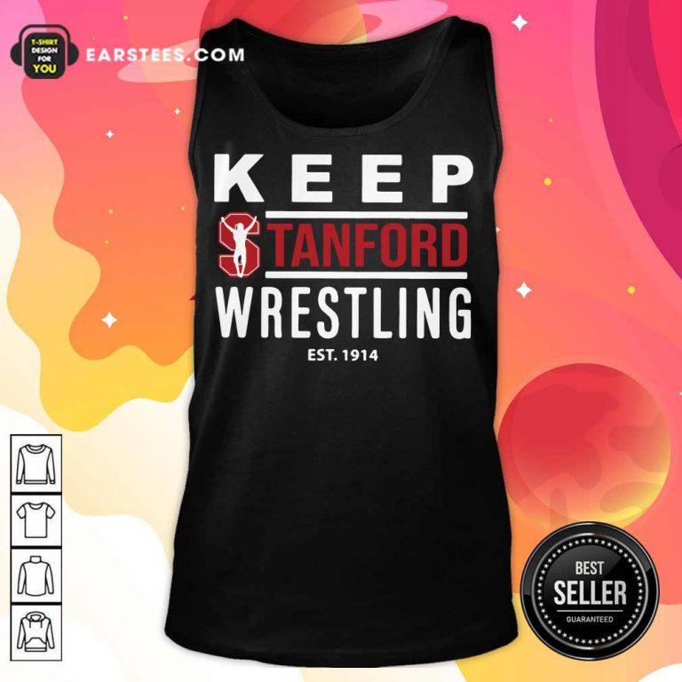 Excellent Keep Stanford Wrestling 1914 Tank Top