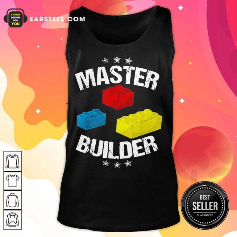 Excellent Master Builder Wonderful 45 Tank Top
