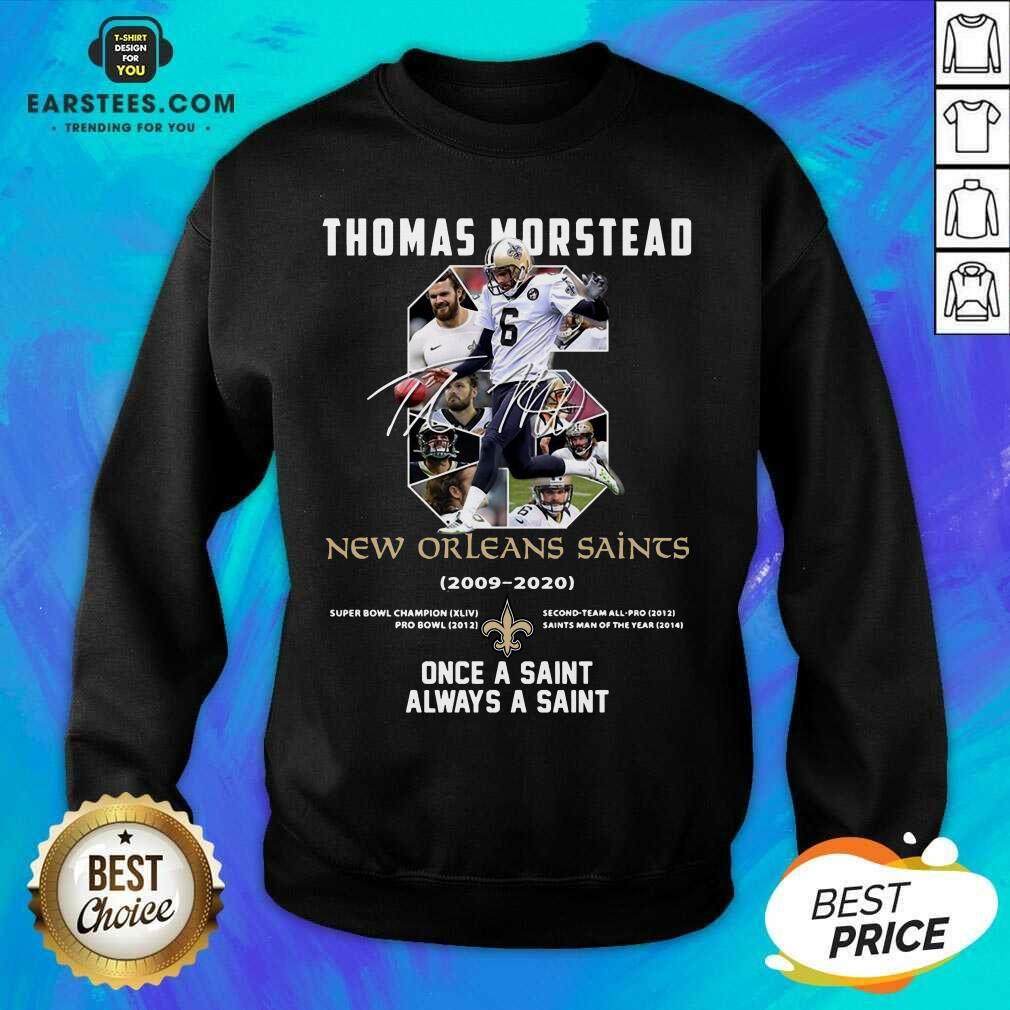 Fantastic 6 Thomas Morstead Orleans Sweatshirt