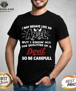 Fantastic Angel Qualities Devil Relaxed Shirt