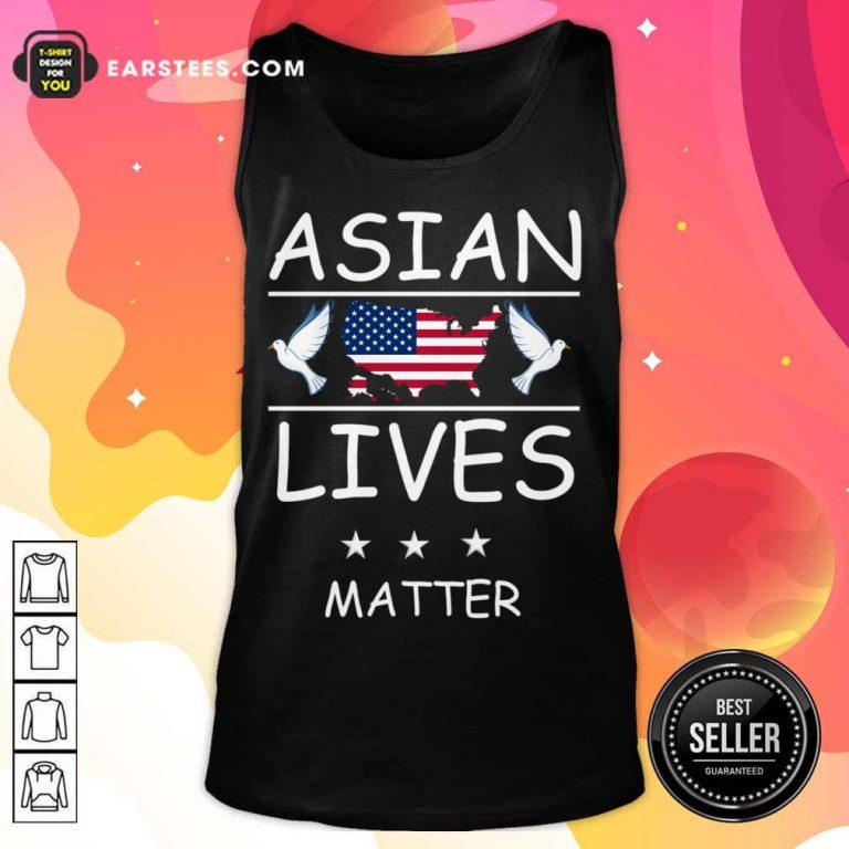 Fantastic Asian Lives Matter American Tank Top