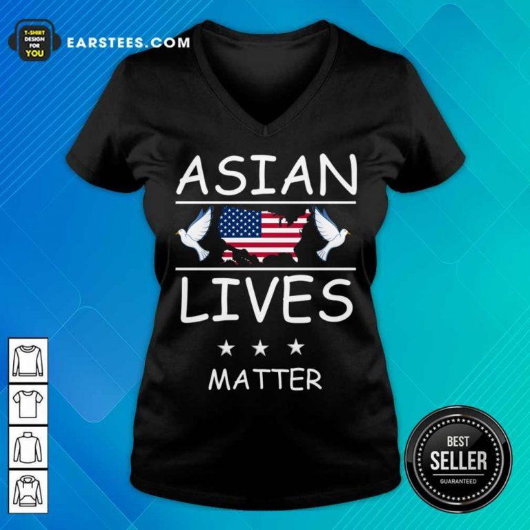Fantastic Asian Lives Matter American V-neck
