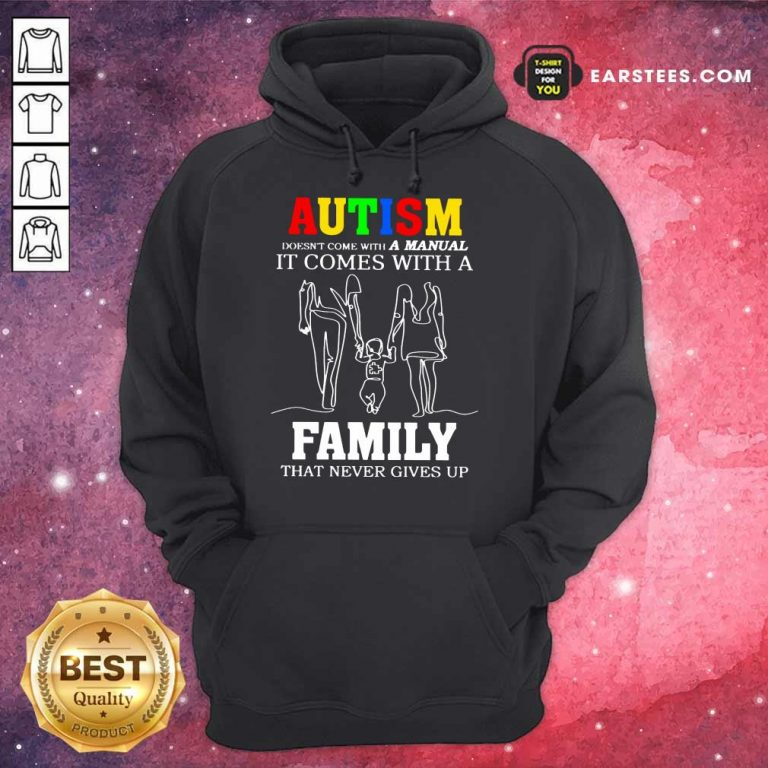 Fantastic Autism A Manual Family Hoodie