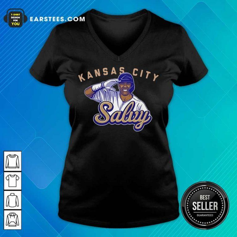 Fantastic Kansas City Salvy Terrific V-neck