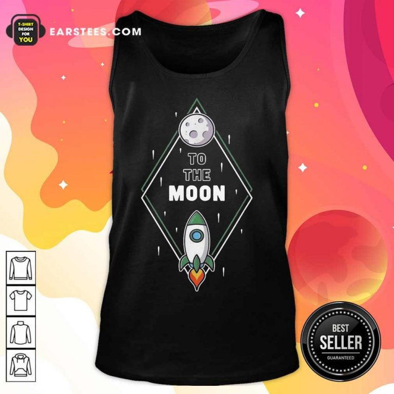 Fantastic To The Moon Wall Street Bet 2 Tank Top
