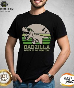Funny Dinosaurs Dadzilla Father Great 8 Shirt