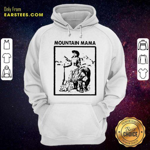 Mountain Mama Hoodie- Design By Earstees.com