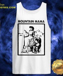 Mountain Mama Tank Top- Design By Earstees.com