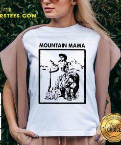 Mountain Mama V-neck- Design By Earstees.com