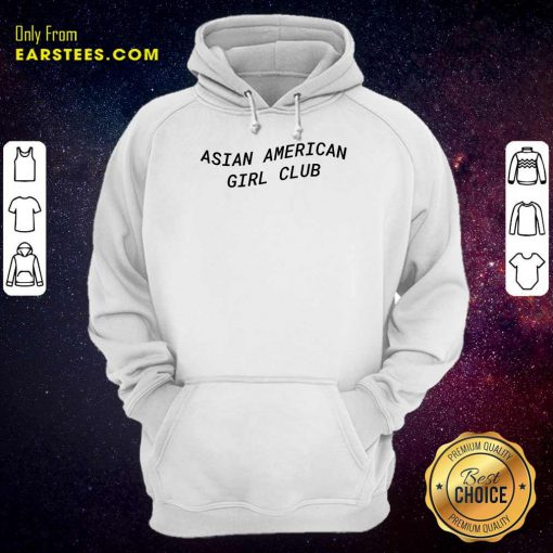 Good Asian American Girl Club Excited Hoodie