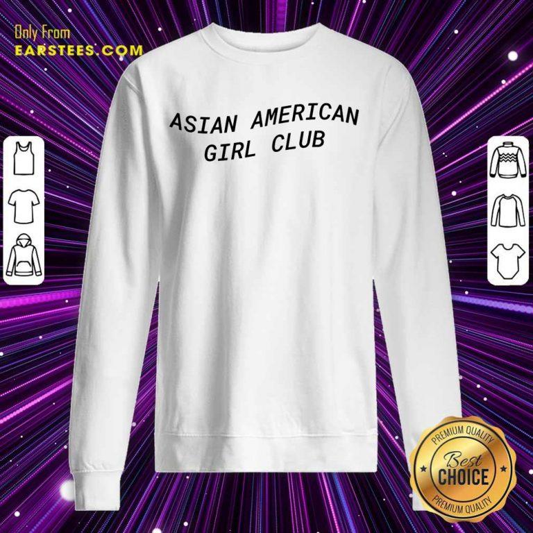 Good Asian American Girl Club Excited Sweatshirt